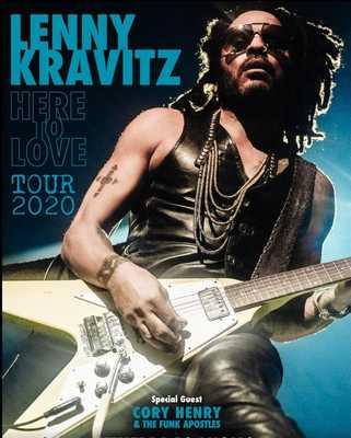 Lenny Kravitz e Ospite 2020