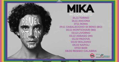 Mika Reveletion tour