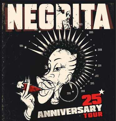 Negrita Tour 25 Anni