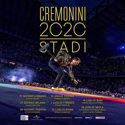 Cesare Cremonini manifesto 2020