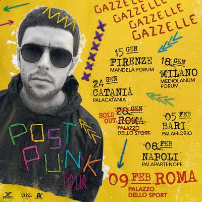 Gazzelle sold Out roma