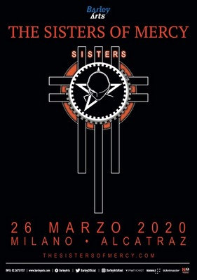 The Sisters Of Mercy Live a Milano