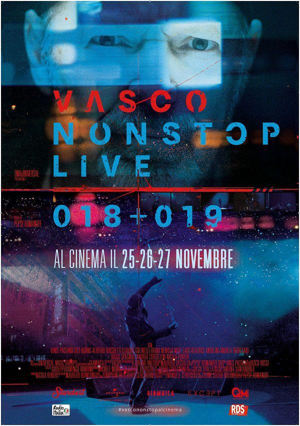 Vasco rossi Locandina Film 2019
