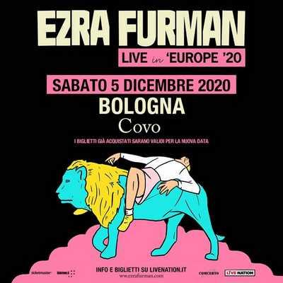 Ezra Furman rinvio dicembre 2020 Manifesto