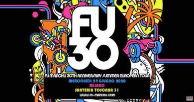 Fu Manchu Live Milano