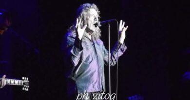 Robert Plant live Milano
