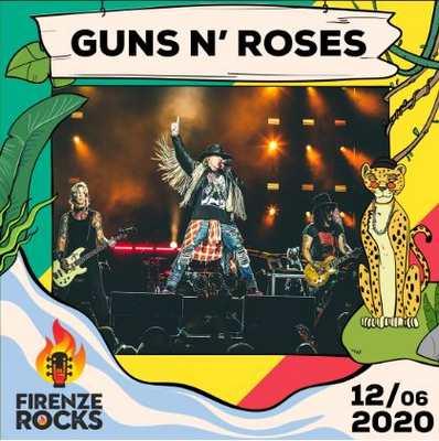 Guns n roses Firenze rocks 2020