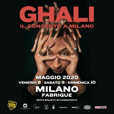Ghali Live a Milano