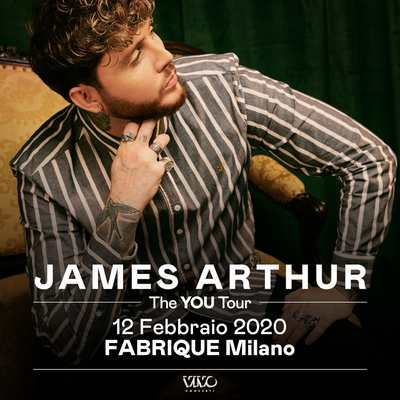 James Arthur Live Milano