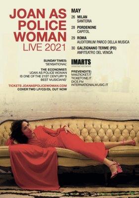 Joan As Police Woman Live 2021