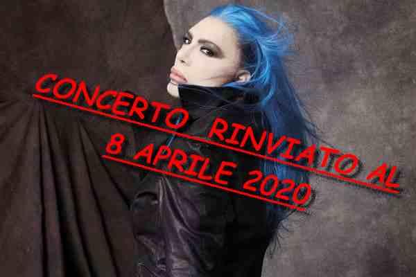Loredana Bertè RINVIATO teatro 2020
