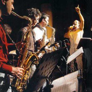 Andrea Mingardi cover Cd Live Jazz Classic