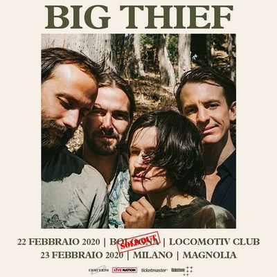 Big thief sold out bologna