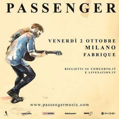 Passenger Live Italia 2020