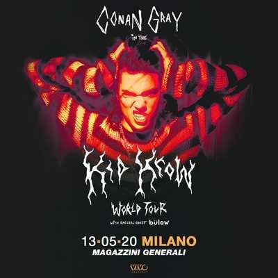 CONAN GRAY + BÜLOW live Milano