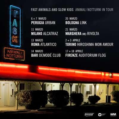 Fast Animals tour 2020
