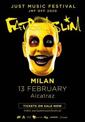 Fat Boy Slim locandina 2020