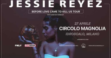 Jessie Reyez Live Milano 2020