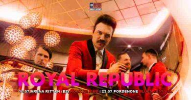 royal republic 2020 in Italia