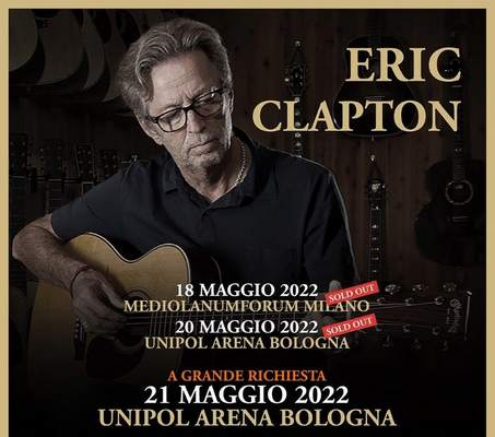 Eric Clapton 2022