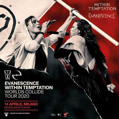 Evanescence + Within Temptation_ support act SIP
