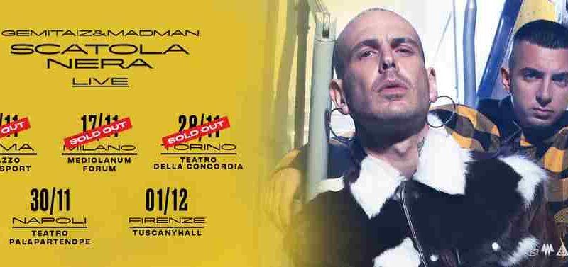 Gemitaiz & Madman - locandina tour novembre