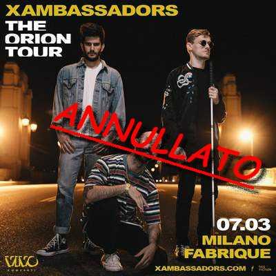 x amBASSADORS aNNULLATO