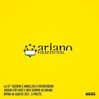 Ariano festival concellato 2020