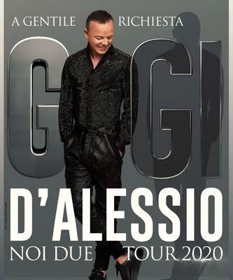 Gigi D'Alessio Tour 2020