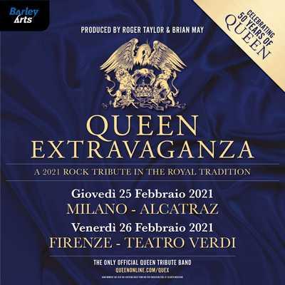 Queen Extravaganza Live Italy 2021