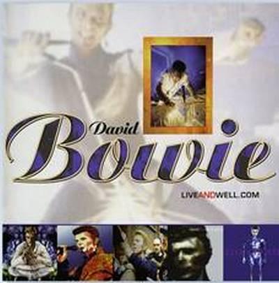 David Bowie - Liveandwell.com cover
