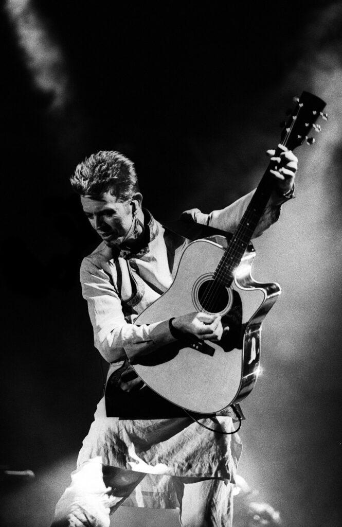 David Bowie Live Paul Bergen