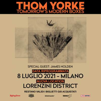 Thom Yorke rinvio 2021