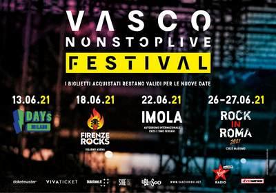 Vasco rossi Tour 2021