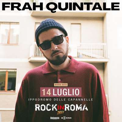 Frah Quintale rock in roma 2021