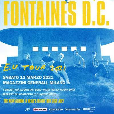 Fontaines DC 2021