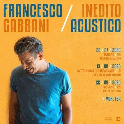 Francesco Gabbani Estate 2020