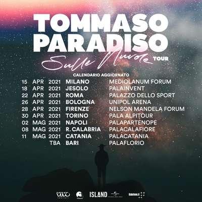 Tommaso Paradiso tour 2021