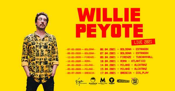 Willie Peyote live 2021
