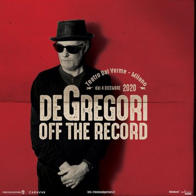Francesco De Gregori Off The Record Milano