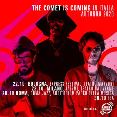 The Comet is Coming Live in Italia 2020