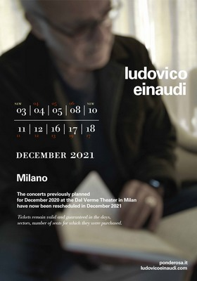 Ludovico Einaudi dicembre 2021
