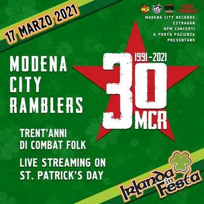 Modena City Ramblers 30 anni live streaming
