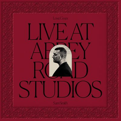 SAM SMITH live at abbey road studios cover cd