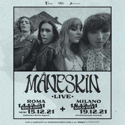 Maneskin sold out Roma