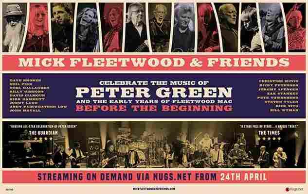 Mick Fleetwood & Friends on line