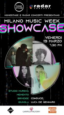 Milano music week showcase