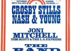 CSN&Y Live Londra 1974
