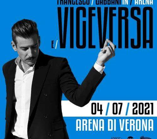 Francesco Gabbani in Arena luglio 2021