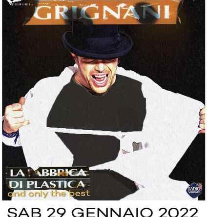 GIANLUCA GRIGNANI La Fabbrica di Plastica and only the best